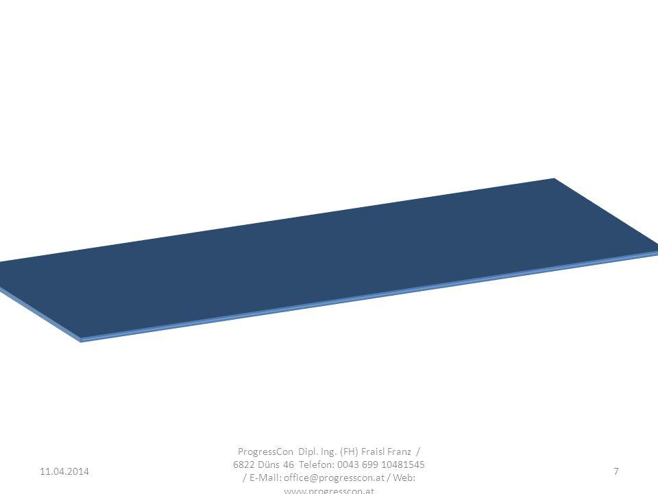 11.04.2014 ProgressCon Dipl.Ing.
