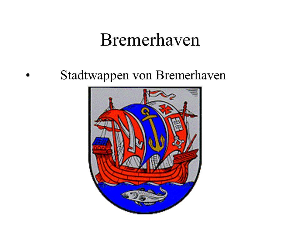Bremerhaven Stadtwappen von Bremerhaven
