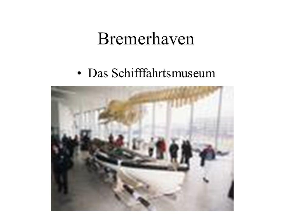 Bremerhaven Das Schifffahrtsmuseum