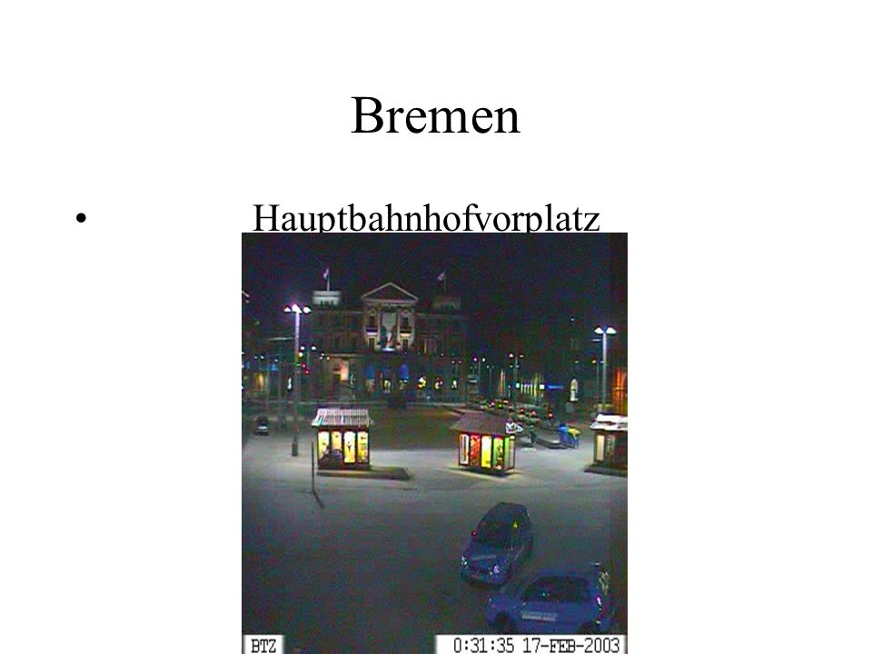 Bremen Hauptbahnhofvorplatz
