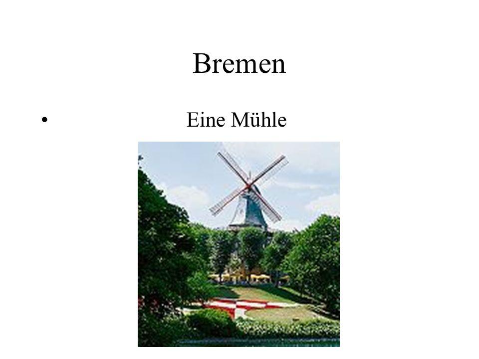 Bremen Eine Mühle
