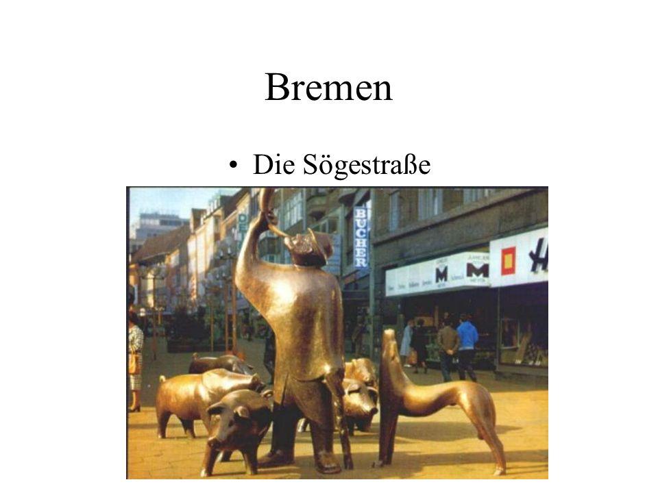 Bremen Die Sögestraße