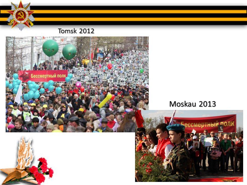 Tomsk 2012 Moskau 2013