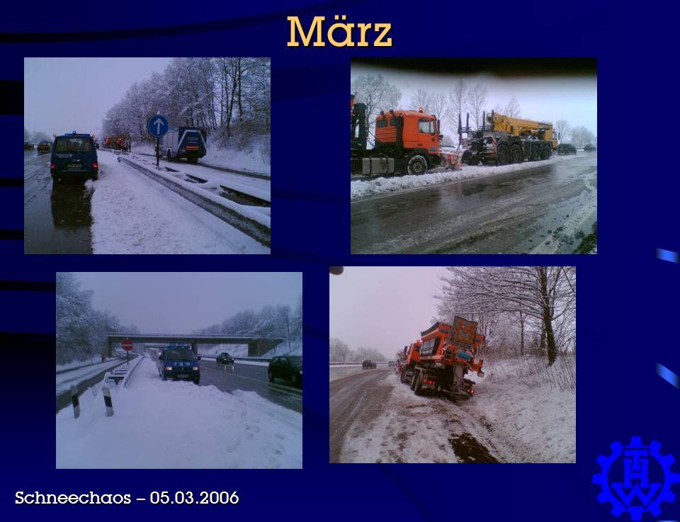 März Schneechaos – 05.03.2006
