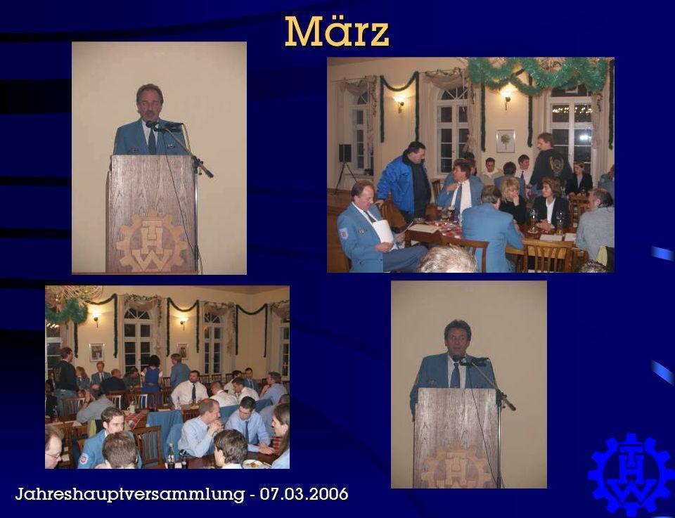 März Jahreshauptversammlung - 07.03.2006