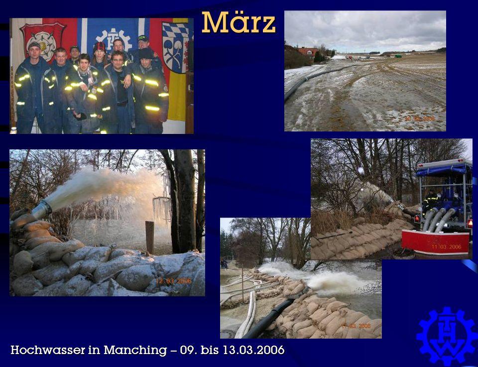März Hochwasser in Manching – 09. bis 13.03.2006