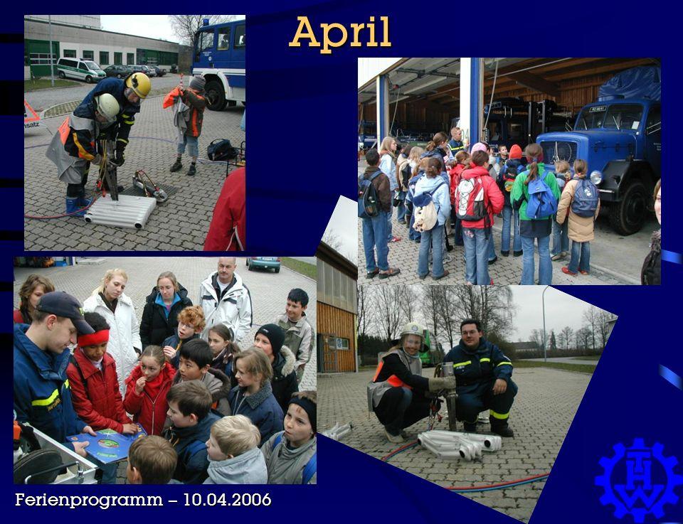 April Ferienprogramm – 10.04.2006