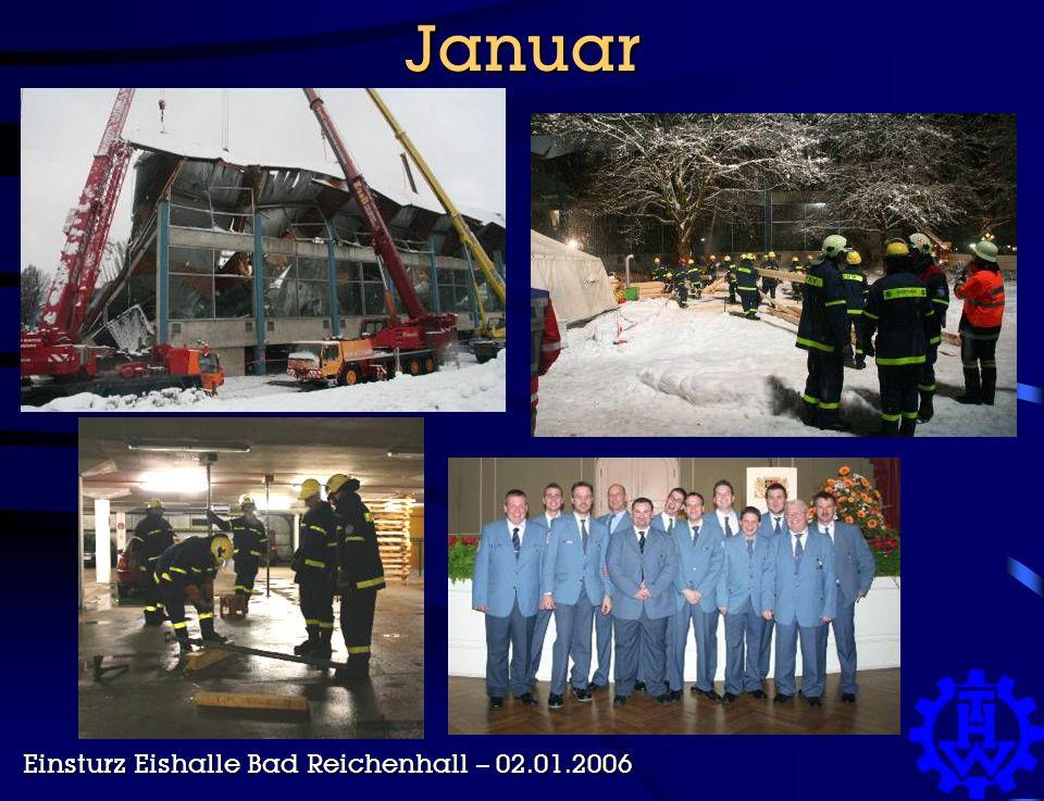 Januar Einsturz Eishalle Bad Reichenhall – 02.01.2006