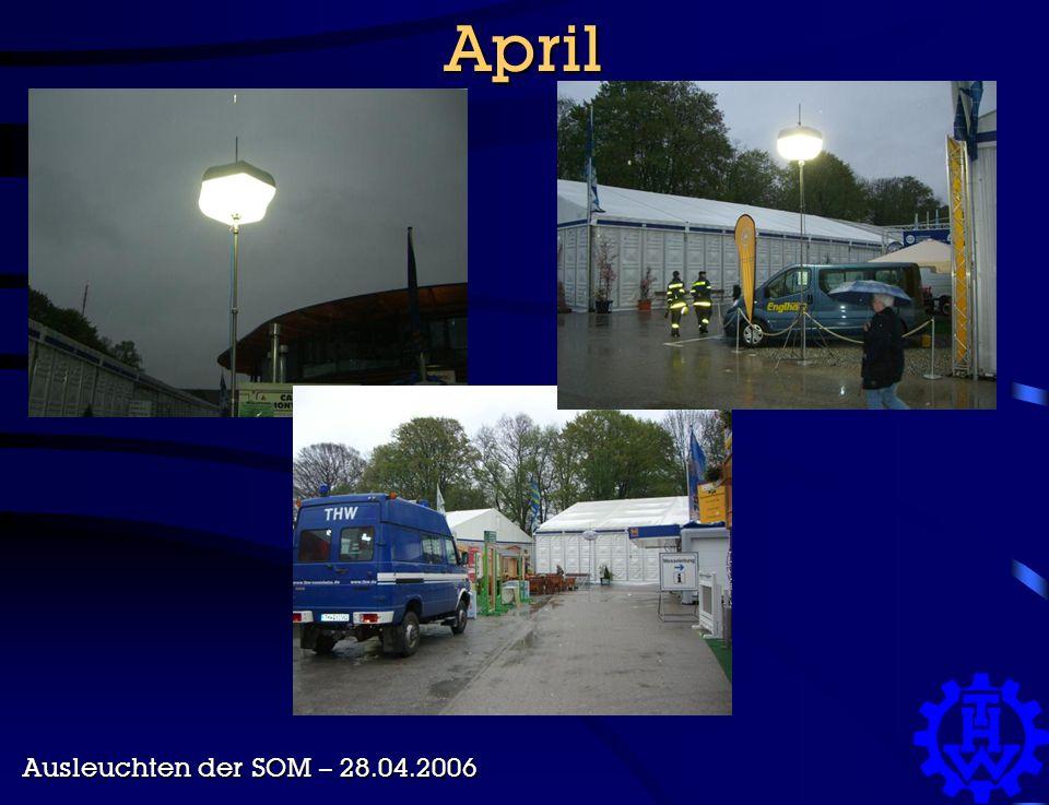 April Ausleuchten der SOM – 28.04.2006