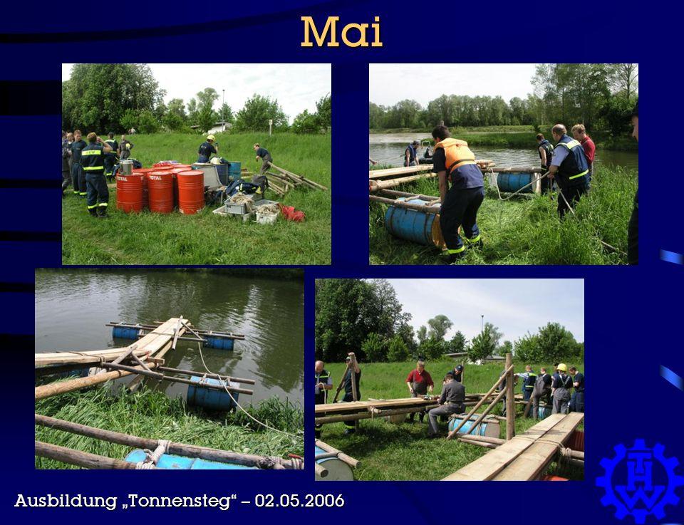 """Mai Ausbildung """"Tonnensteg – 02.05.2006"""