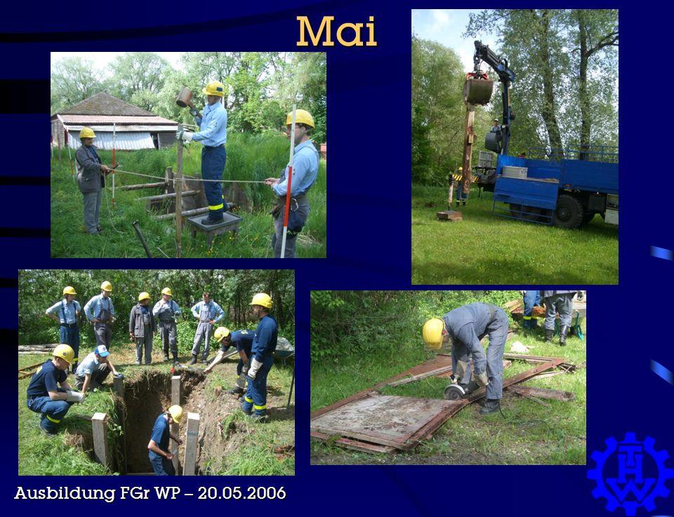 Mai Ausbildung FGr WP – 20.05.2006