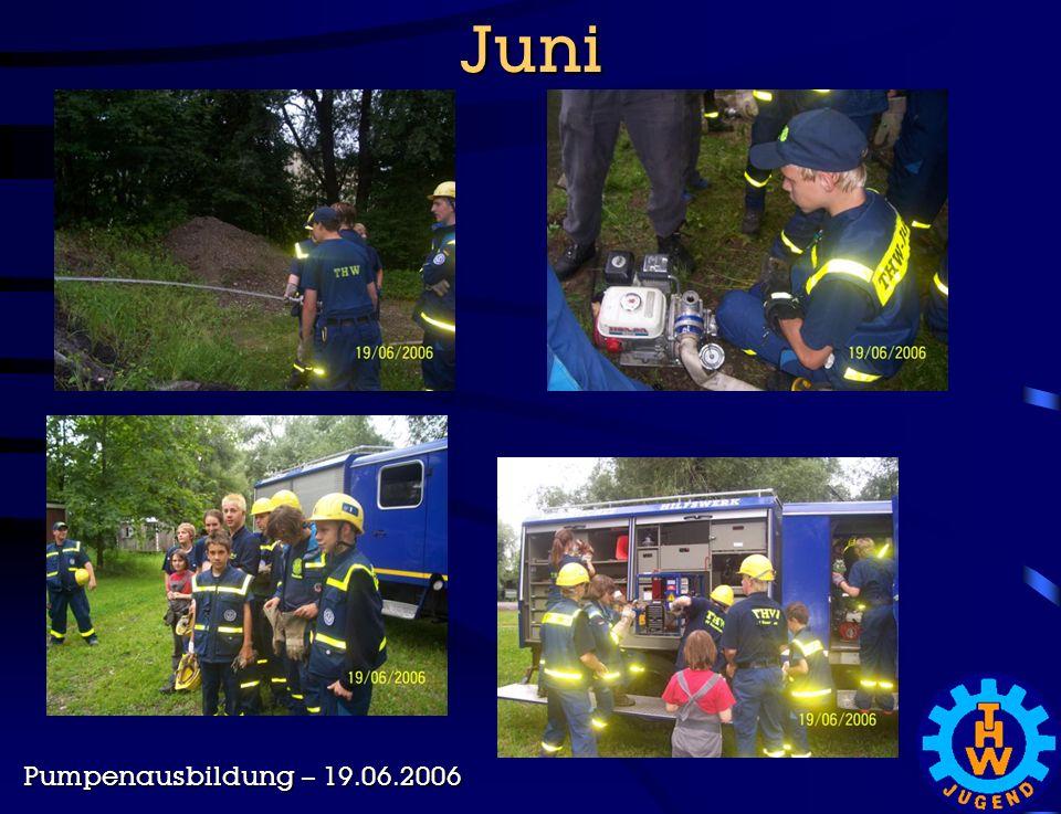 Juni Pumpenausbildung – 19.06.2006