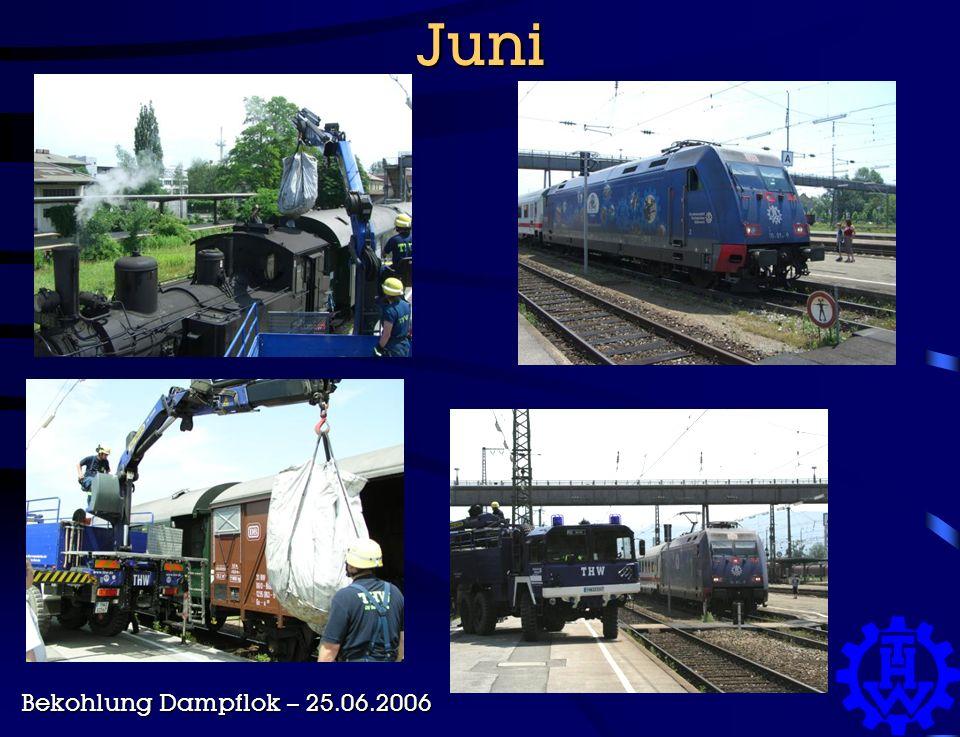 Juni Bekohlung Dampflok – 25.06.2006