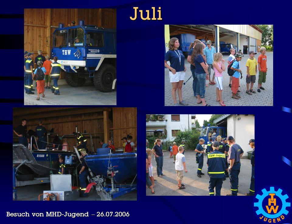 Juli Besuch von MHD-Jugend – 26.07.2006