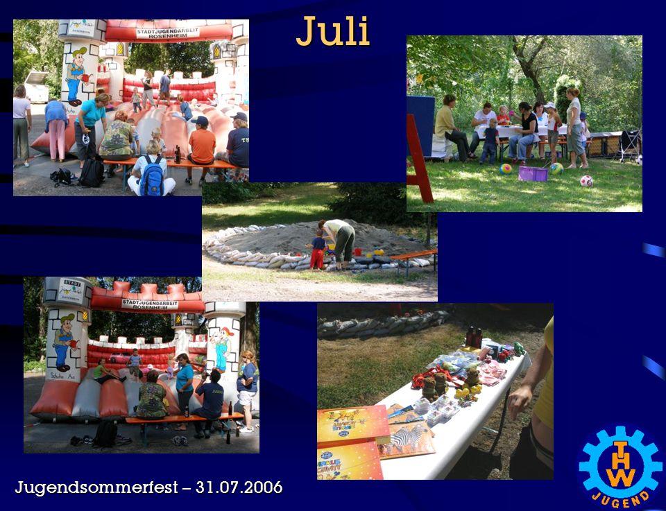 Juli Jugendsommerfest – 31.07.2006