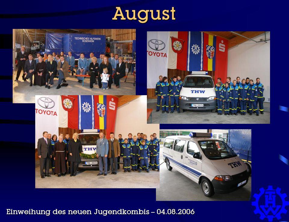 August Einweihung des neuen Jugendkombis – 04.08.2006