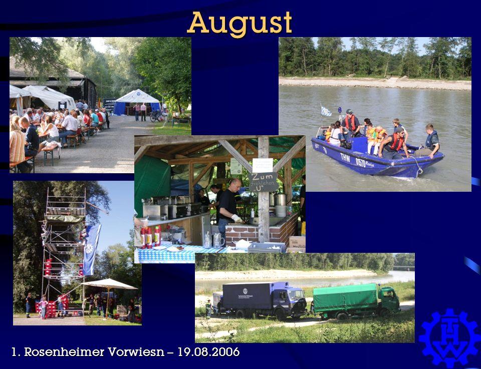 August 1. Rosenheimer Vorwiesn – 19.08.2006