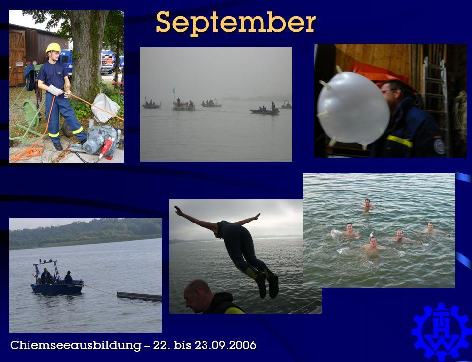 September Chiemseeausbildung – 22. bis 23.09.2006