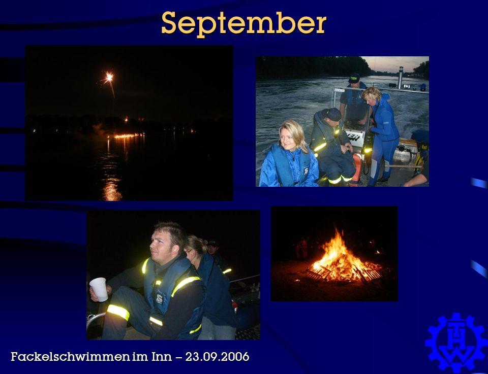 September Fackelschwimmen im Inn – 23.09.2006