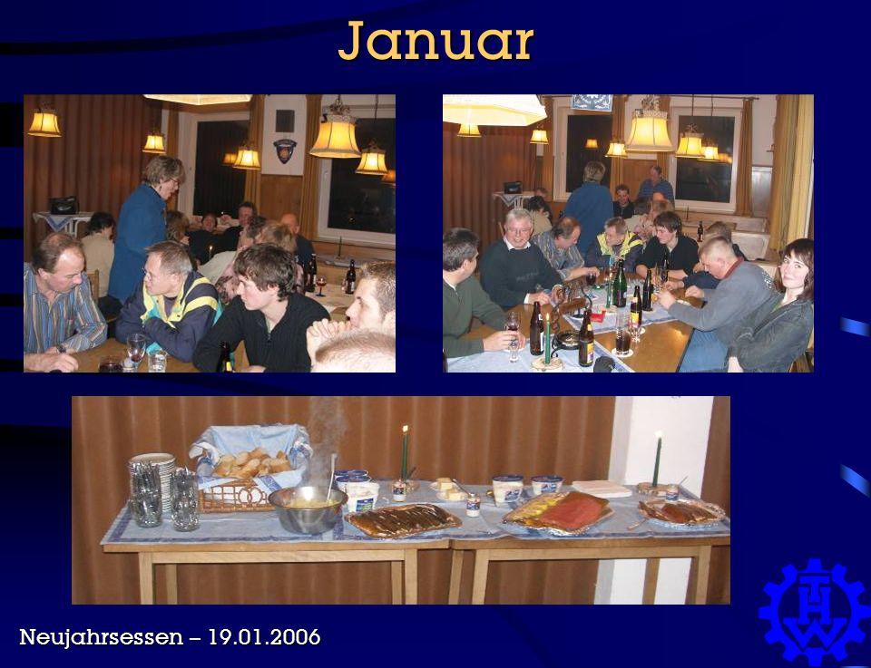 Januar Neujahrsessen – 19.01.2006