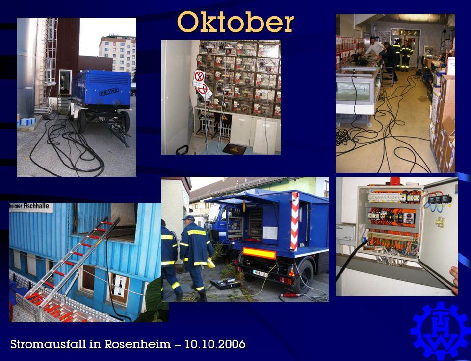 Oktober Stromausfall in Rosenheim – 10.10.2006