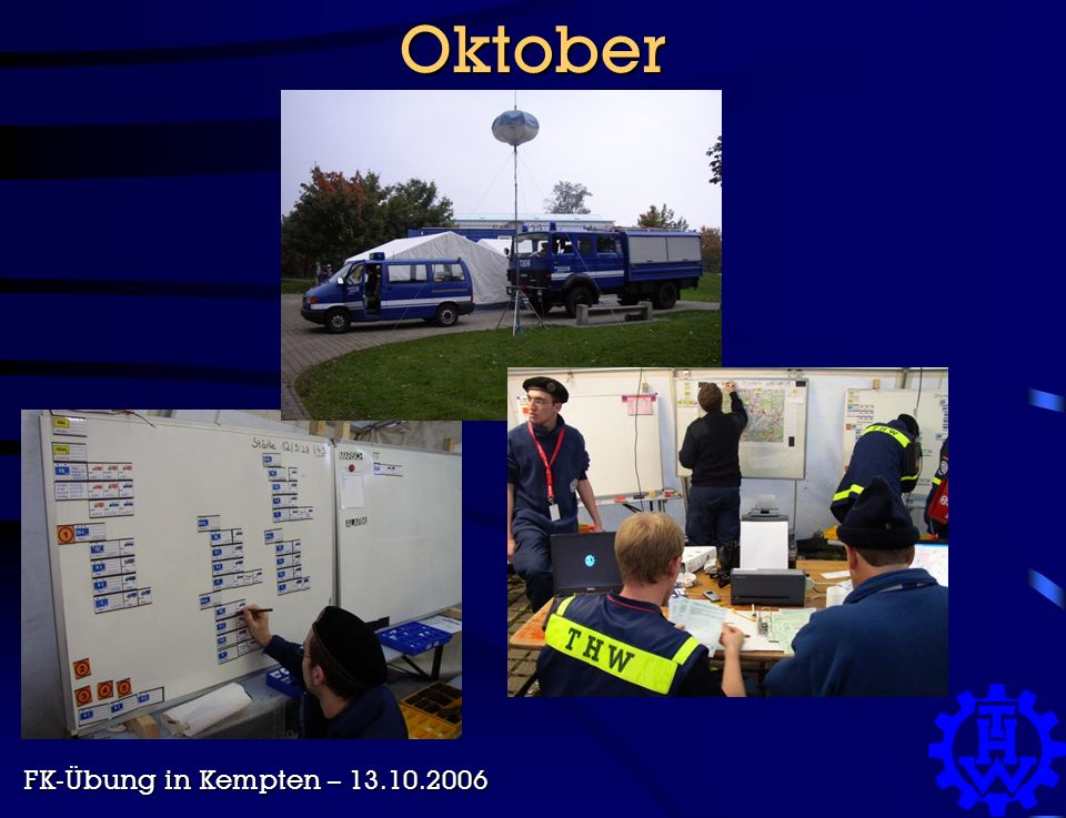 Oktober FK-Übung in Kempten – 13.10.2006