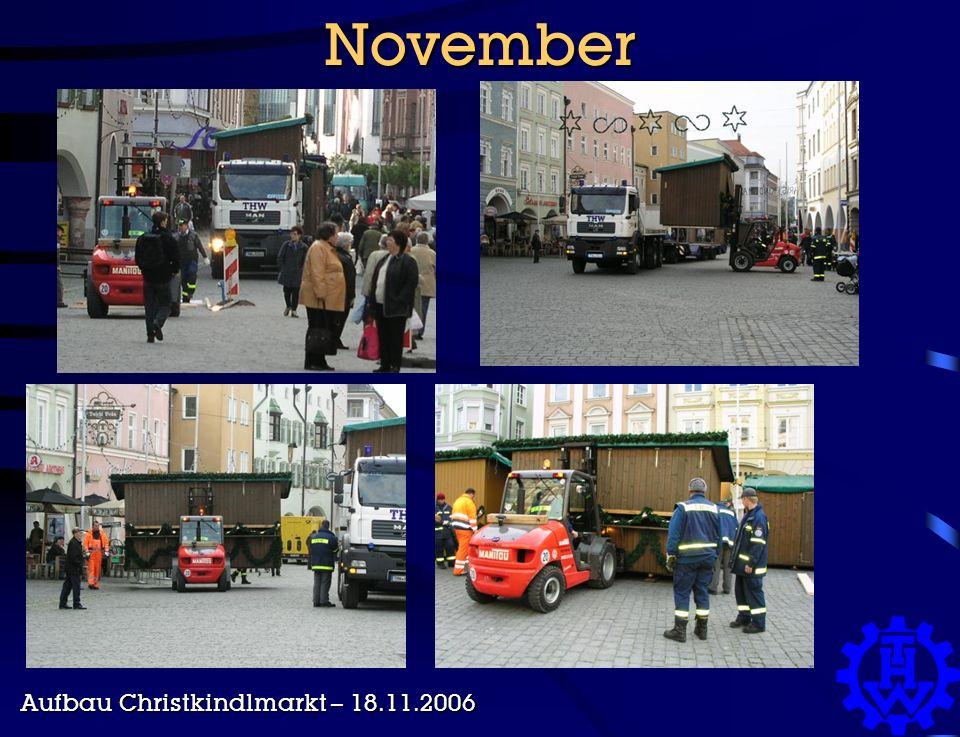 November Aufbau Christkindlmarkt – 18.11.2006
