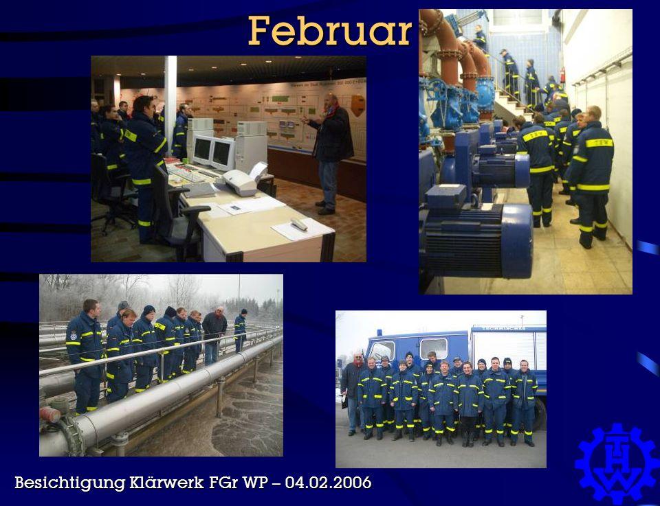 Februar Besichtigung Klärwerk FGr WP – 04.02.2006