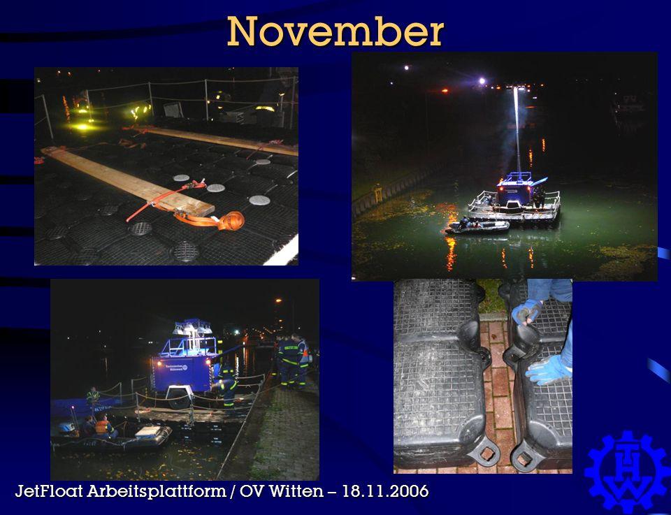 November JetFloat Arbeitsplattform / OV Witten – 18.11.2006