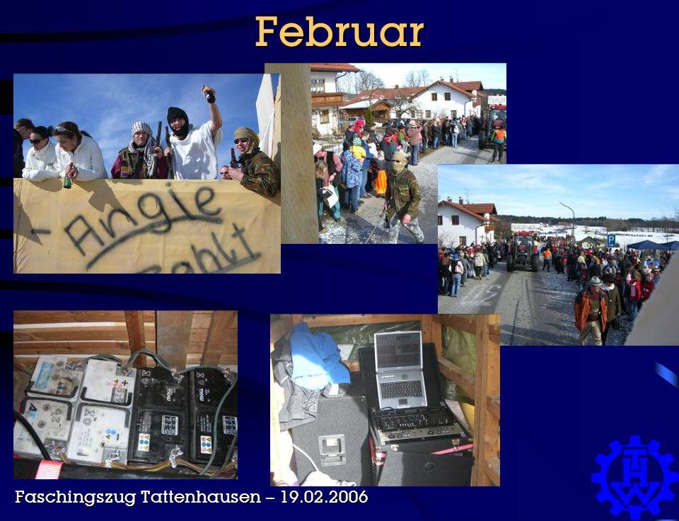 Februar Faschingszug Tattenhausen – 19.02.2006