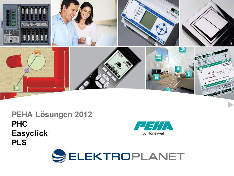 PEHA Lösungen 2012 PHC Easyclick PLS