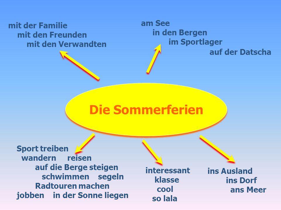 Die Ferien in Deutschland Der Bodensee Die Alpen Der Harz Die Nordsee Der Schwarzwald Südbayern München