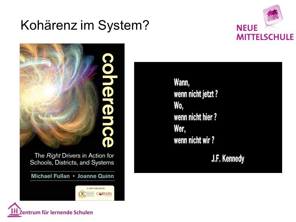 Kohärenz im System?