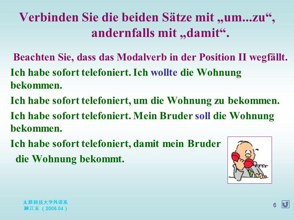 太原科技大学外语系 顾江禾 ( 2006.04 ) 27 Helmut Kohl - Politiker Als die 16jährige Kanzlerschaft Helmut Kohls nach der Bundestagswahl 1998 endete, war sich die deutsche wie die internationale Öffentlichkeit in dem Urteil einig, daß damit auch eine Ära ausklang.