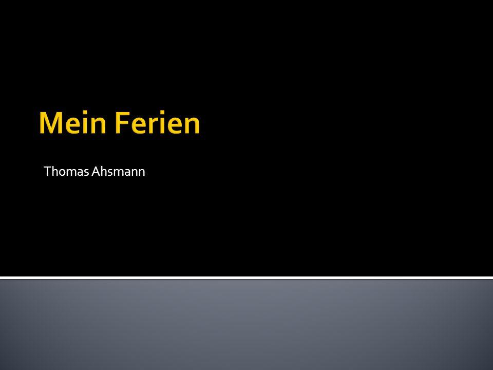 Thomas Ahsmann