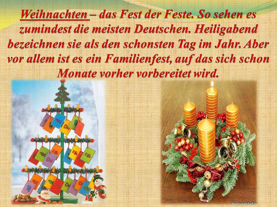 Weihnachtsmärkte haben eine lange Tradition in Deutschland.