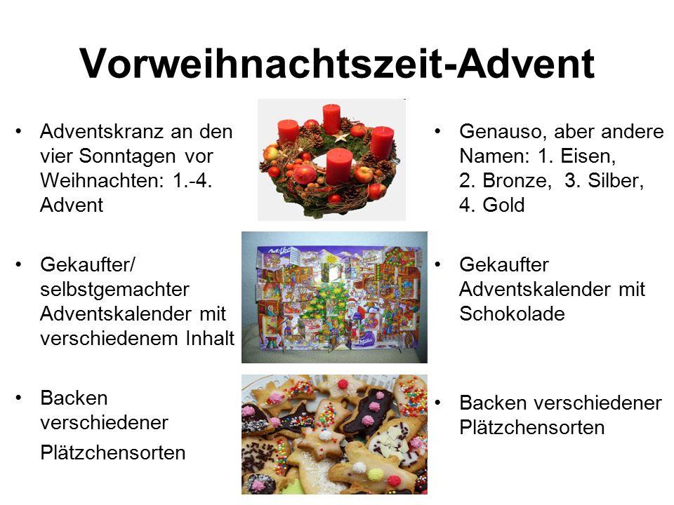 Tschechische Republik 25.Dezember: Boží hod 26. Dezember: Štěpán Familienfeste mit Essen (z.B.