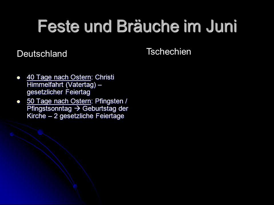 Feste und Bräuche im Juli 5.červenec: Den slovanských věrozvěstů Cyrila a Metoděje 5.