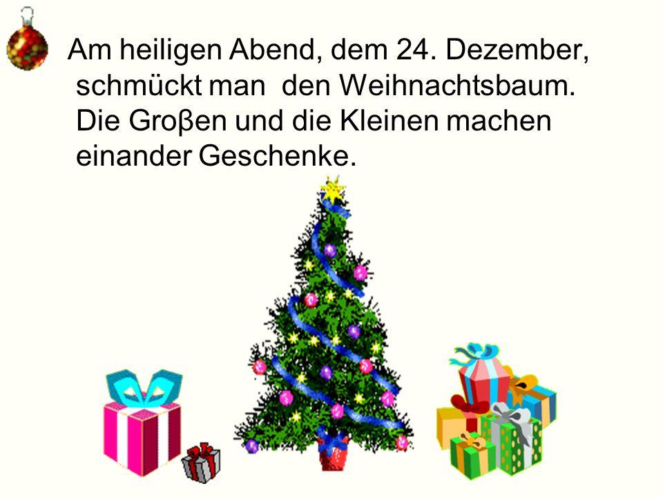 Zur Adventszeit gehören auch die Weihnachtsmärkte in vielen Städten.