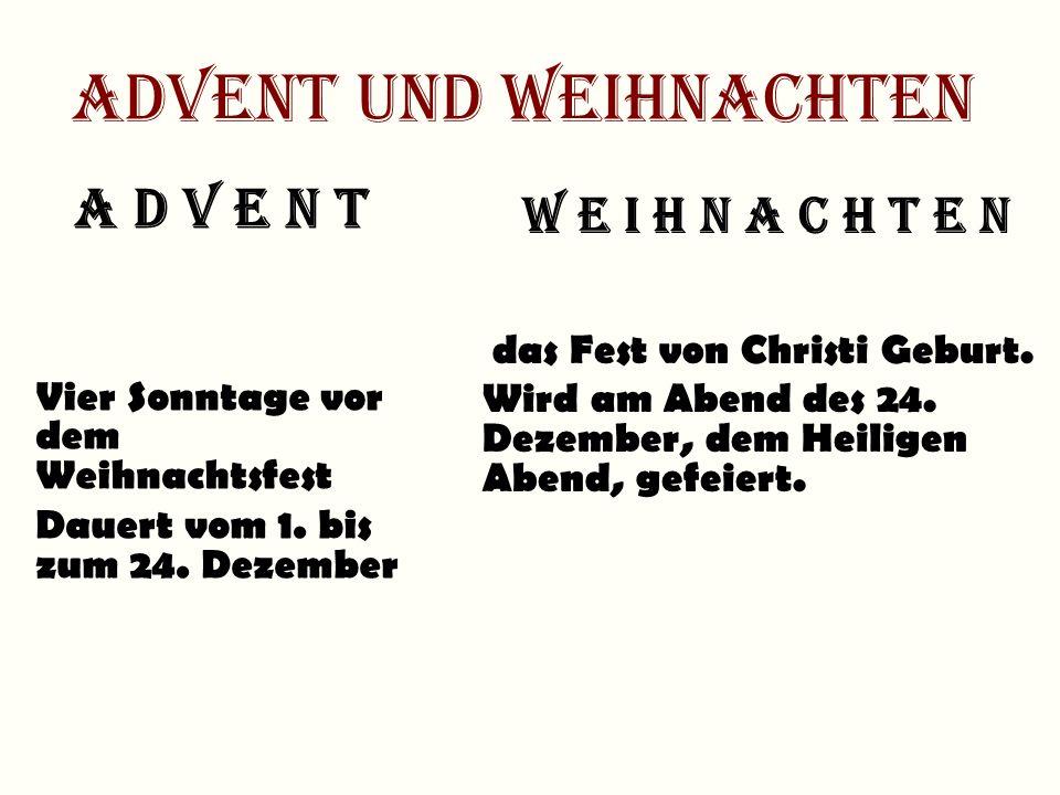Weihnachtssymbole Tannenbaum Adventskranz Geschenke Plätzchen Adventskalender Weihnachtsmarkt 1 2 3 4 5 6