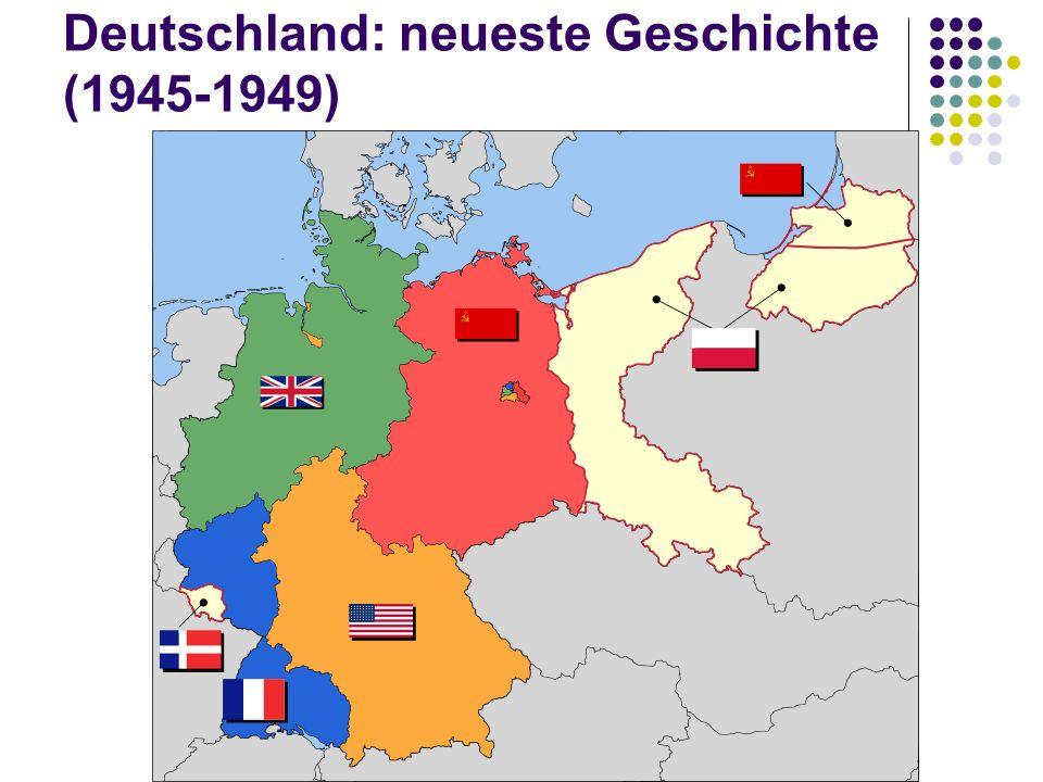 Deutschland: neueste Geschichte (1945-1949)