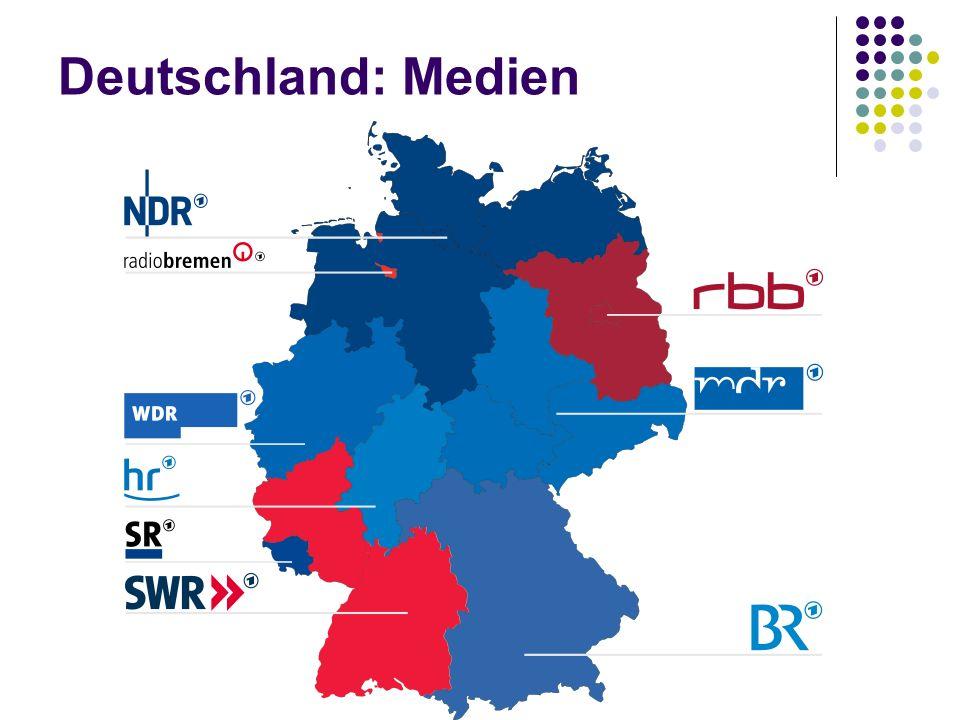 Deutschland: Medien
