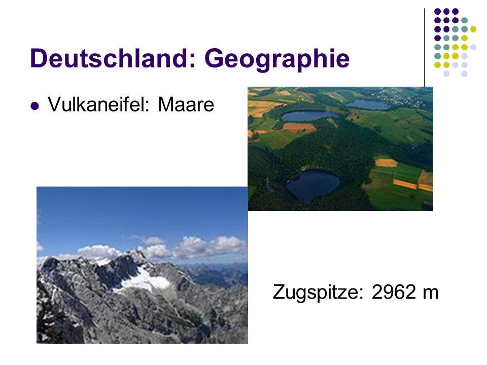 Vulkaneifel: Maare Zugspitze: 2962 m