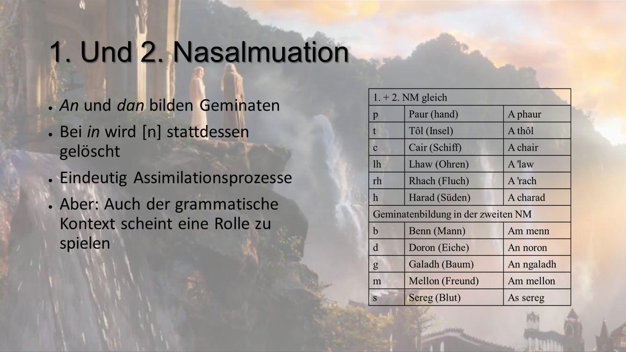 1. und 2. Nasalmutation