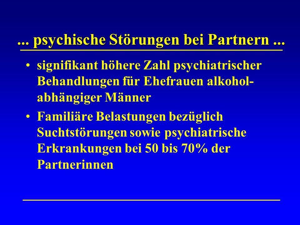 ...psychische Störungen bei Partnern...