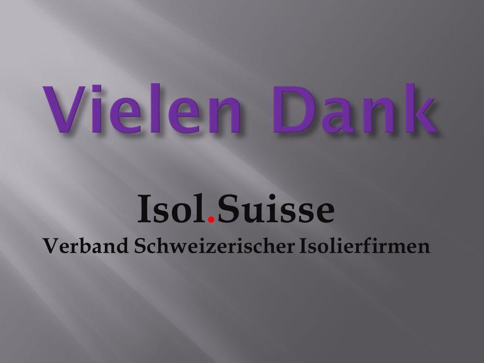 Isol.Suisse Verband Schweizerischer Isolierfirmen