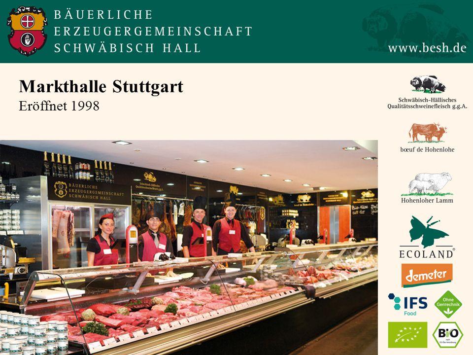 Markthalle Stuttgart Eröffnet 1998