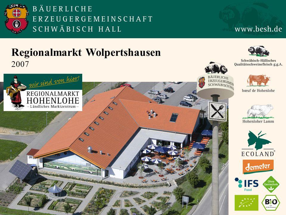 Regionalmarkt Wolpertshausen 2007