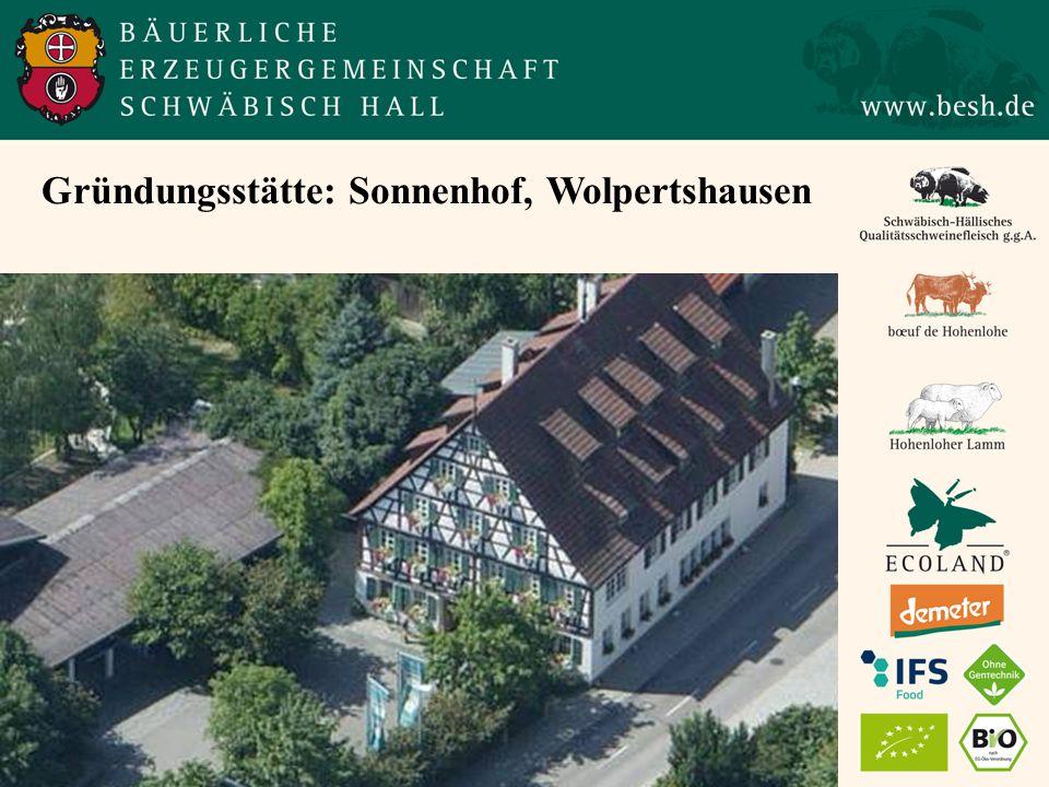 Gründungsstätte: Sonnenhof, Wolpertshausen