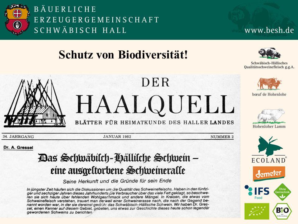 Schutz von Biodiversität!